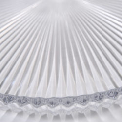 The image for Fluted Glass Circular Tray 04