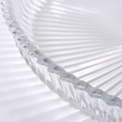 The image for Fluted Glass Circular Tray 05