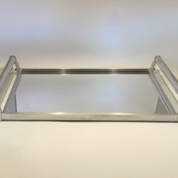 The image for French Chrome Rectangular Tray 02