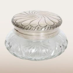 The image for German Cut Glass Bowl 1930S Main