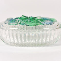 The image for Glass Lidded Bowl 02