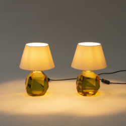 The image for Glass Base Lamp Amber 0440