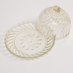 The image for Glass Cheese Dish00003