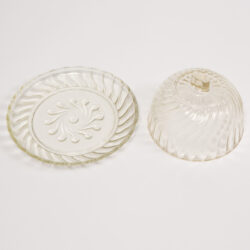The image for Glass Cheese Dish00004