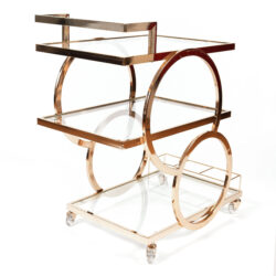 The image for Gold American Drinks Trolley 02