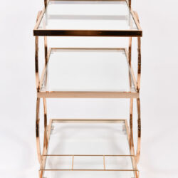 The image for Gold American Drinks Trolley 03
