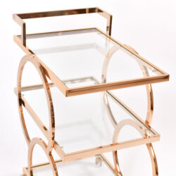 The image for Gold American Drinks Trolley 04