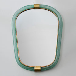 The image for Green Barovier Wall Mirror 01
