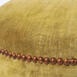 The image for Green Yellow Upholstered Stool 05