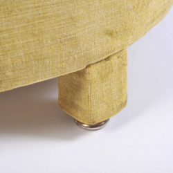 The image for Green Yellow Upholstered Stool 06