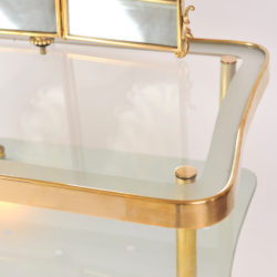 The image for Italian Brass Dressing Table 02