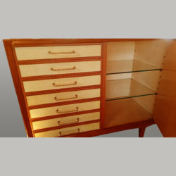 The image for Italian Wooden Cabinet Detail Interior