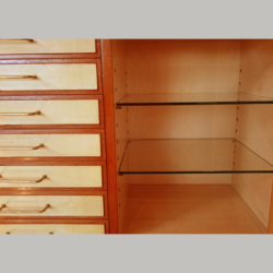 The image for Italian Wooden Cabinet Detail Interior 02