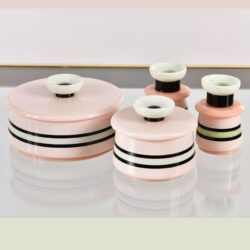The image for Italian Pink Dressing Table Set 01