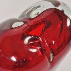 The image for Large Red Heart Vase 04