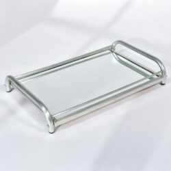 The image for Large Chrome Mirrored Tray 01