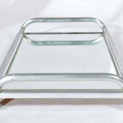 The image for Large Chrome Mirrored Tray 04