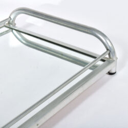 The image for Large Chrome Mirrored Tray 05