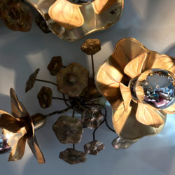 The image for Lotus Wall Lights Details 01