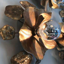 The image for Lotus Wall Lights Details 02