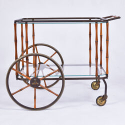 The image for Maison Jansen Bamboo Trolley 01