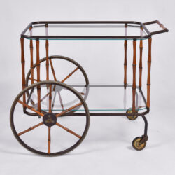 The image for Maison Jansen Bamboo Trolley 02