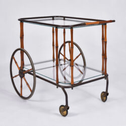 The image for Maison Jansen Bamboo Trolley 03