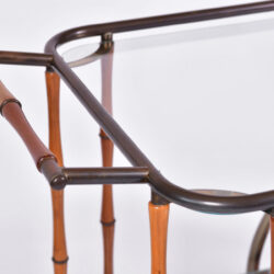 The image for Maison Jansen Bamboo Trolley 05