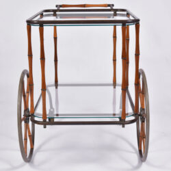 The image for Maison Jansen Bamboo Trolley 07