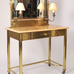 The image for Marble Topped Dressing Table 03