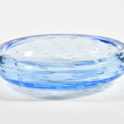 The image for Mid Centruy Blue Murano Bowl 02