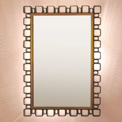The image for Modernist Back Lit Mirror 01