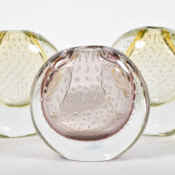 The image for Murano Lilac Lemon Vases 02