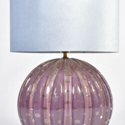 The image for Murano Purple Lamp 02