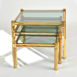 The image for Nest Of Brass Tables 01