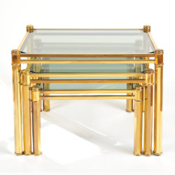The image for Nest Of Brass Tables 02