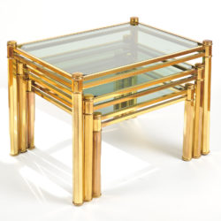 The image for Nest Of Brass Tables 03