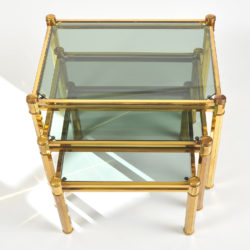 The image for Nest Of Brass Tables 04