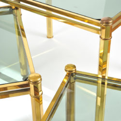 The image for Nest Of Brass Tables 05