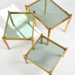The image for Nest Of Brass Tables 06