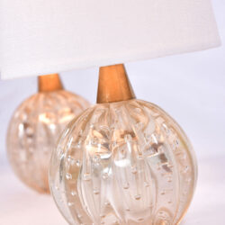 The image for Paiar Clear Murano Lamps 02