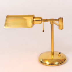 The image for Pair Brass Desk Lamps 04