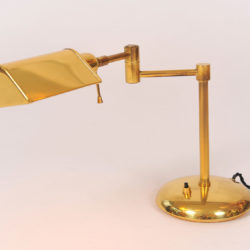 The image for Pair Brass Desk Lamps 05