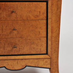 The image for Pair Burr Walnut Bedside Tables 02 Vw