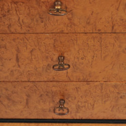 The image for Pair Burr Walnut Bedside Tables 08 Vw