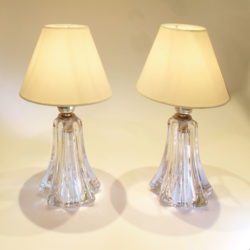 The image for Pair Clear Val St Lamps 01