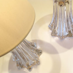 The image for Pair Clear Val St Lamps 04