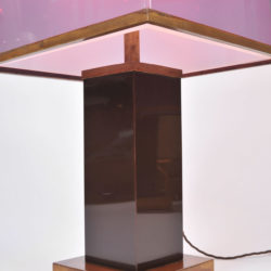 The image for Pair Double Perspex Shade Lamps 03