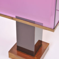 The image for Pair Double Perspex Shade Lamps 04