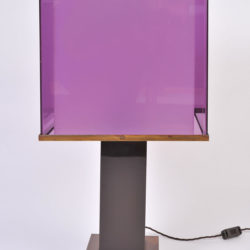 The image for Pair Double Perspex Shade Lamps 05